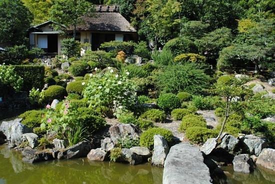 Ukyo, Japan: 庭園&清漣亭