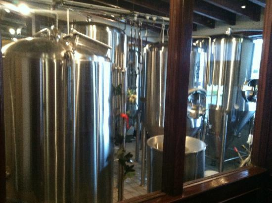 Rocky River Brewing Company: Rocky River Brewing Co. Tanks
