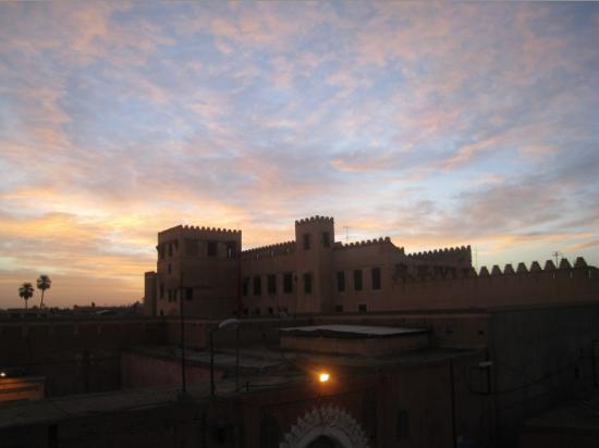 Riad Saba : Blick von der Dachterrasse