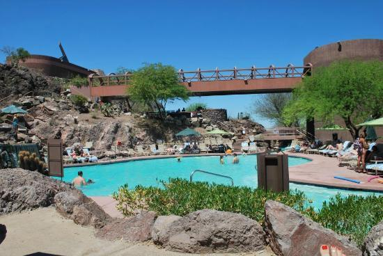 The Pool Area At The Buttes Picture Of Phoenix Marriott Resort Tempe At The Buttes Tempe