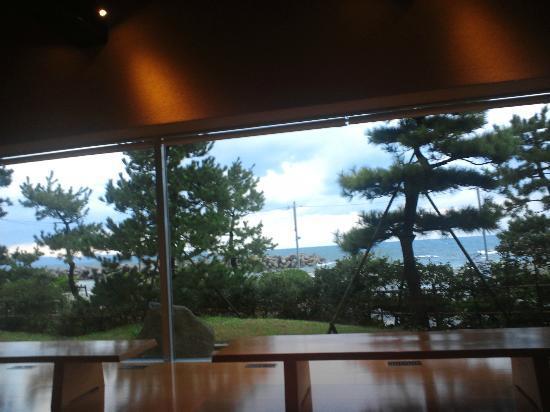 Kaike Seaside Hotel : 休憩室(無料マッサージ機が2台、ロッキングチェアー1台)