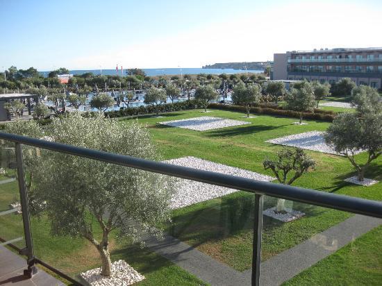 Vila Gale Lagos: Utsikten från andra våningen