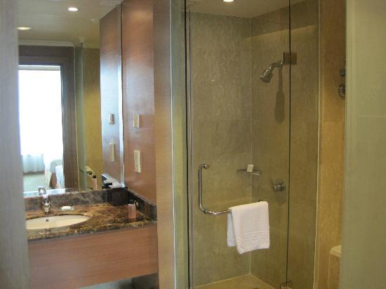 Pullman Kuala Lumpur City Centre Hotel And Residences: Shower facilities