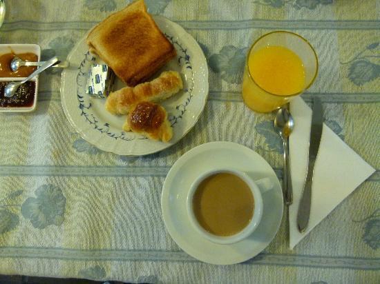 Posada de la Flor: un buen desayuno