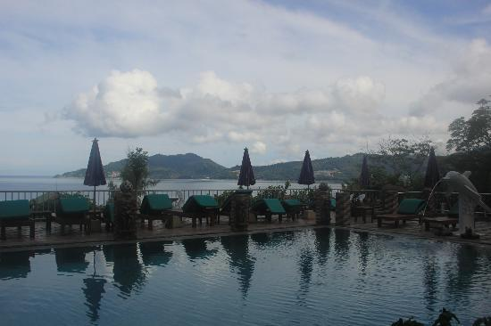 Tri Trang Beach Resort: view from the pool