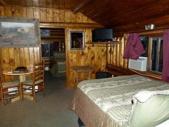 Moose Creek Cabins and Inn: Deuxième couchage