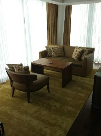 Jumeirah Frankfurt: Living Area