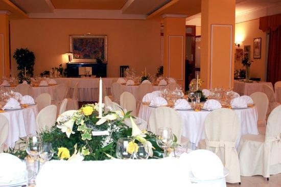 Hotel Parco della Fonte: La sala da pranzo
