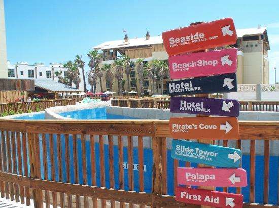 Hotel Grounds Picture of Schlitterbahn Beach Resort South Padre