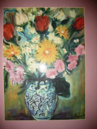 Best Western Hotel Mirador: Las flores (pintura)