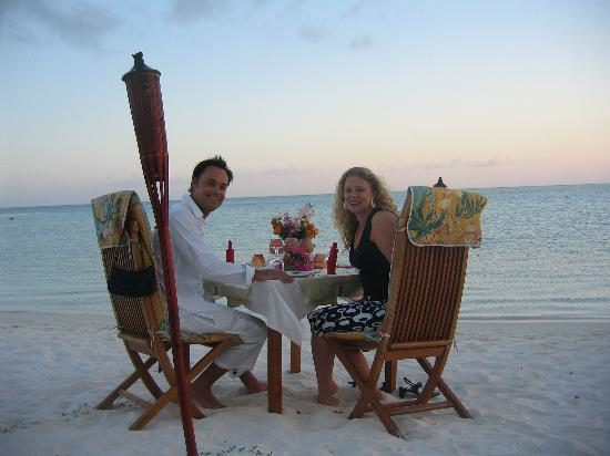 Sun Island Resort: Romantic dinner