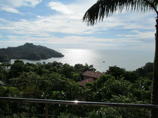 Tulemar Bungalows & Villas: looking out the 2 floor balcony