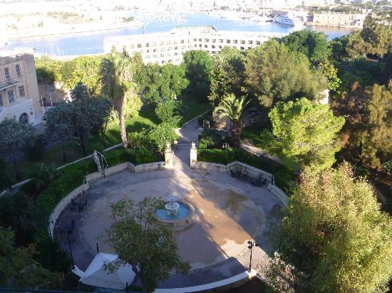 The Phoenicia Malta: View from balcony