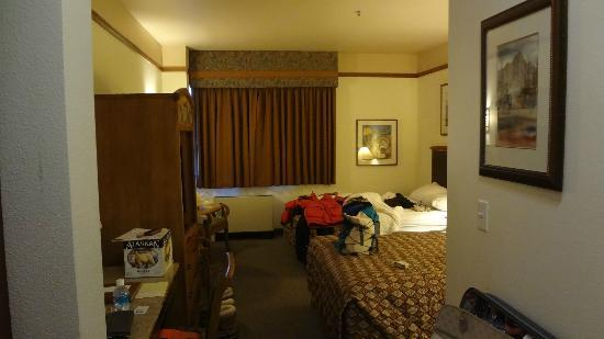 Fairbanks Princess Riverside Lodge: ベッド