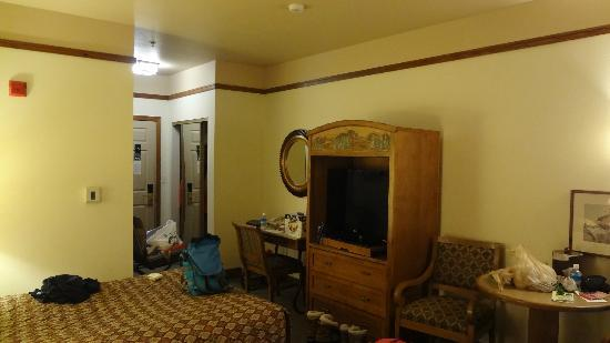 Fairbanks Princess Riverside Lodge: 湯沸しポット