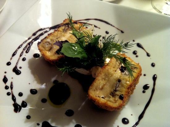 Receptoria : Горячая закуска из баклажанов и моцареллой