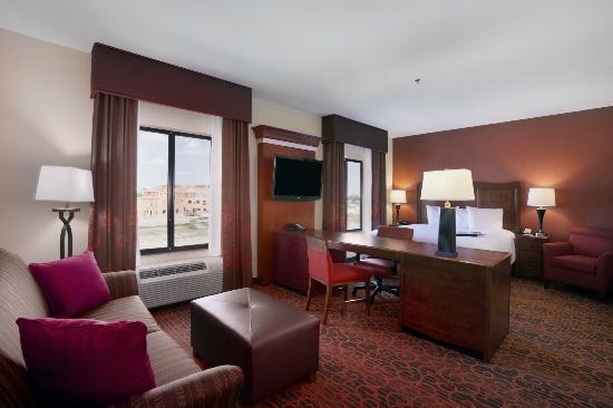 Hampton Inn & Suites Williston: King Bedroom Suite