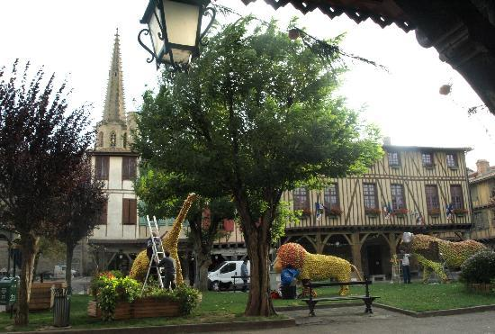 Relais & Chateaux Relais Royal: vue sur la cathédrale