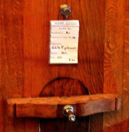 Gattavecchi Wine Barrel Label