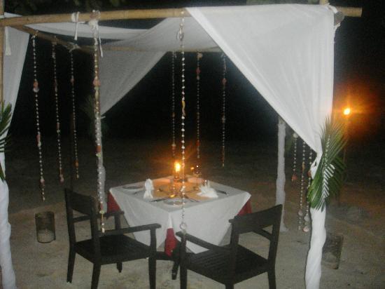 Holiday Inn Resort Phi Phi Island: Private Dinner