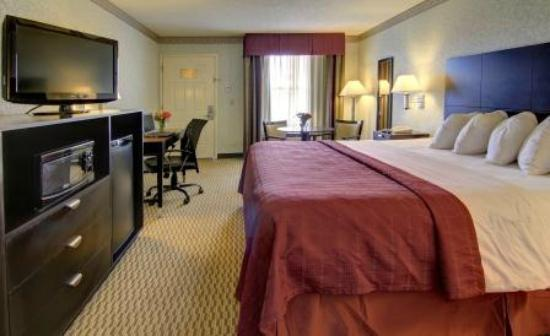 Quality Inn : King Room with MicroFridge, Business Desk, & Table with Chairs