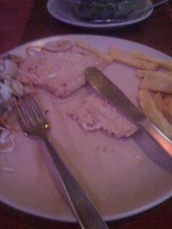 Eatopia's Horrible Fish and Chips. Don't waste your money here.