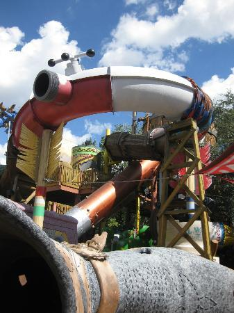 Universal Studios Florida: Kids Playland Area