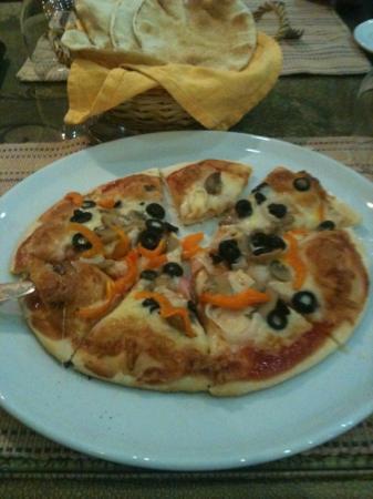 Jibreen Hotel: vegi Pizza