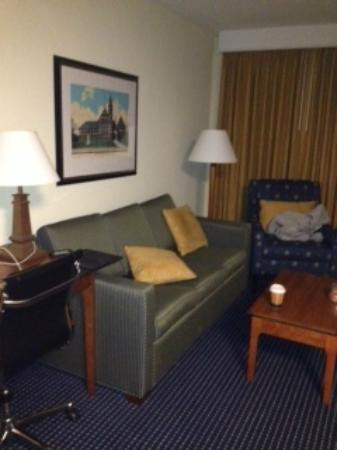 Residence Inn by Marriott Boston Woburn: Nice little living room area