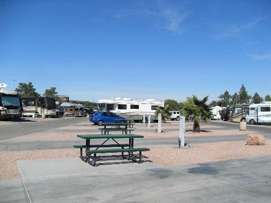 Oasis Las Vegas RV Resort : View Of The Park #1