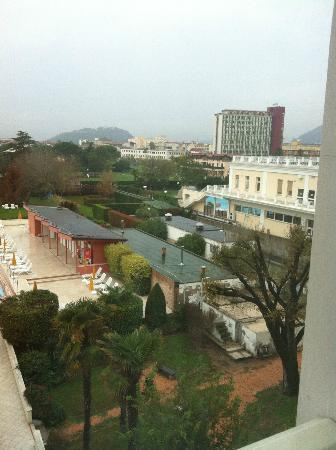 Hotel Terme Venezia: vista dalla finestra