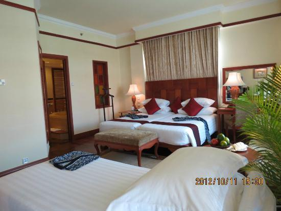 Sokha Angkor Resort: Comfortable beds