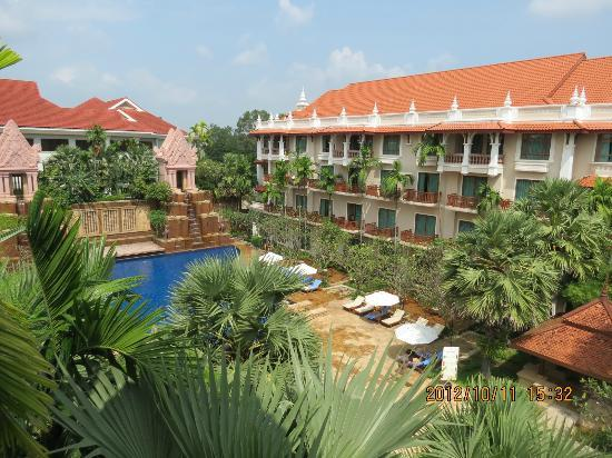 Sokha Angkor Resort: View from room