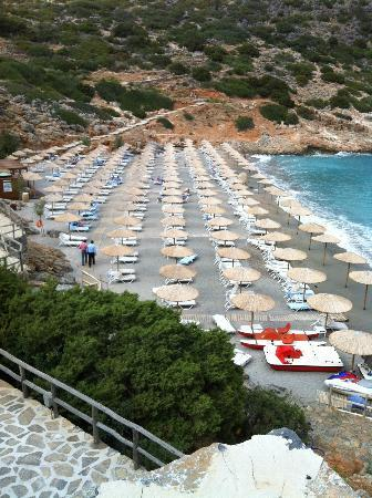 Daios Cove Luxury Resort & Villas: BEACH