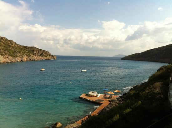 Daios Cove Luxury Resort & Villas: ROOM WITH A VIEW