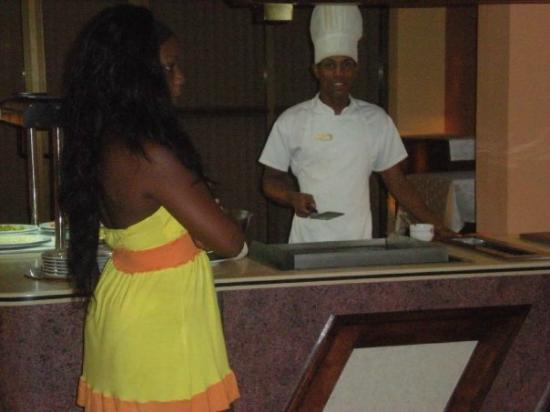 Cubanacan Hotel y Villas Marina Hemingway : Simon El mejor cheff