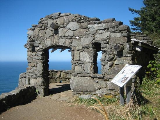 Yachats, Oregón: viewpoint