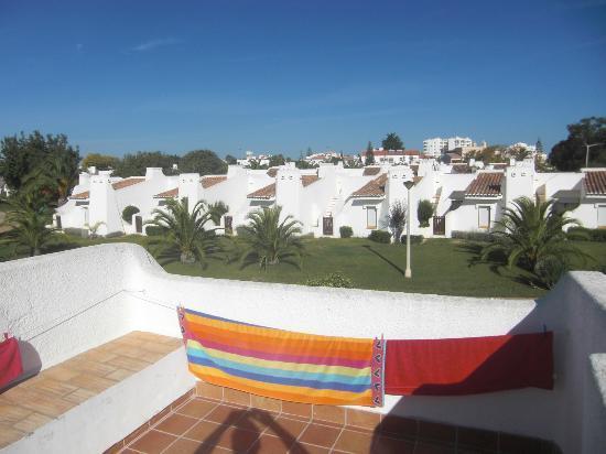 Ancora Park: Blick von der Dachterrasse