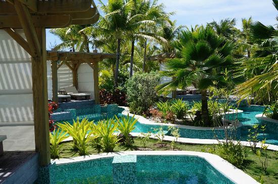 The St. Regis Bora Bora Resort: Private Pool Cabanas