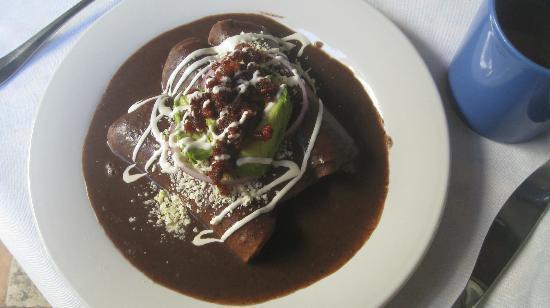 Casa Sirena Hotel: breakfast burrito