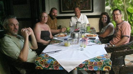 Casa Sirena Hotel: breakfast