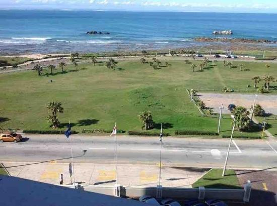 Protea Hotel Port Elizabeth Marine: view from our room