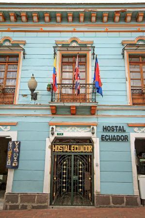 Hostal Ecuador: Front