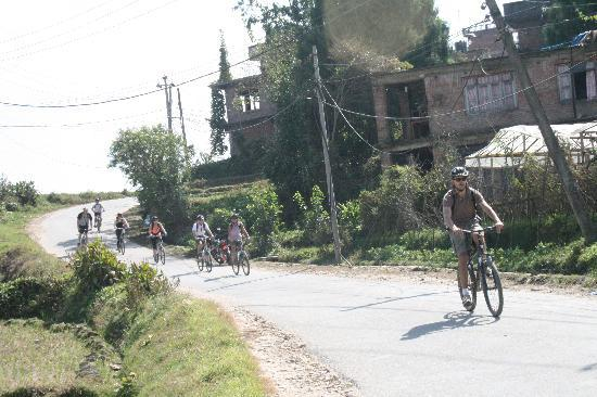 Balthali Nepal  City new picture : Ride Balthali to Panauti Picture of Nepal Mountain Bike Tours ...