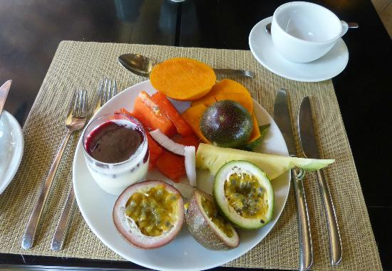 LUX* Grand Gaube: Petit déjeuner
