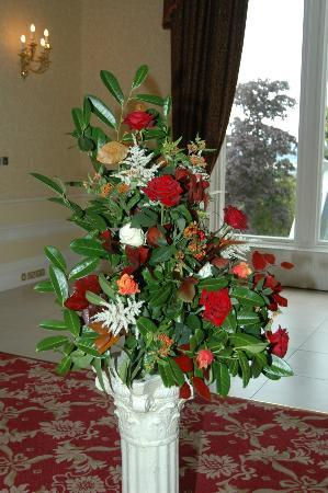 Crieff Hydro Hotel and Resort: Blumenschmuck