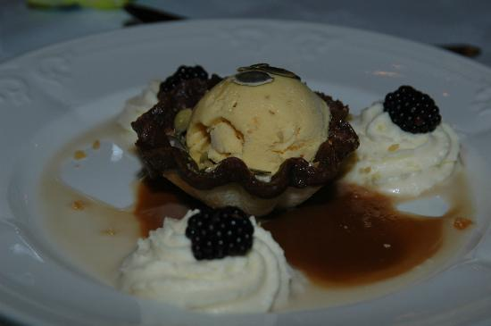 Crieff Hydro Hotel and Resort: Pumkin Ice Cream