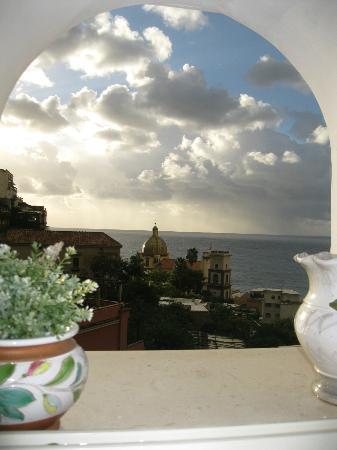 La Mammola : dalla finestra del soggiorno
