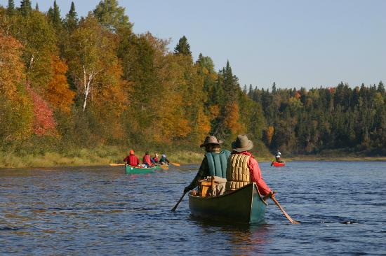 Mahoosuc Guide Service: Wonderful day on the Allagash - Ulrike Welsch