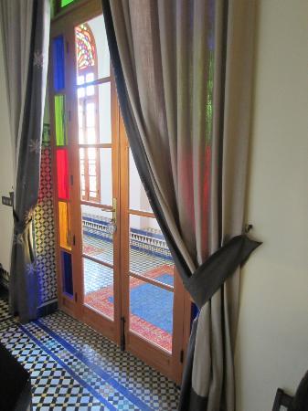 Palais Amani : entrée de la chambre